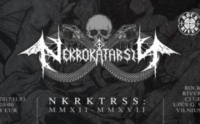 Ekstremalios muzikos koncertų organizatoriai Nekrokatarsis kviečia į 5-ąjį gimtadienį