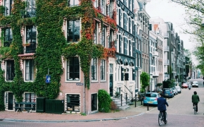 Travel Diary. Amsterdam, Holland. Day I. Happy People