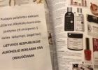 Pakalbėkim: alkoholio reklamos draudimas lygu išplėšyti žurnalų puslapiai ir cenzūra?