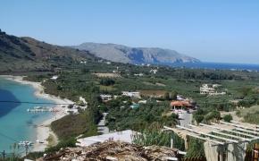Kreta: stovykla sau su Julija Minajeva. Maistas.