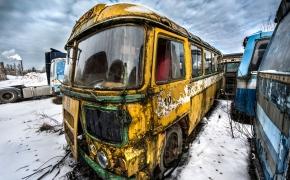 Kur merdi sovietiniai autobusai