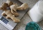 Imbierų sirupas ir cukruoti imbierų gabaliukai