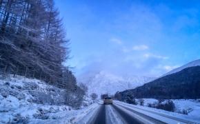 Žiema Škotijos aukštumose. Pasiilgusiems sniego ir kalnų