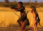 Nepaprasta mažos mergaitės ir laukinės gamtos draugystė (foto)