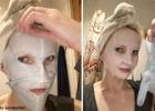 GARNIER Skin Naturals Moisture + Comfort ypač drėkinanti raminamoji lakštinė veido kaukė sausai ir jautriai odai su ramunėlių ekstraktu, hialurono rūgštimi ir drėkinančiu serumu