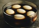 Marinuoti kiaušiniai sojos padaže