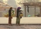 Ramus ir kaimiškas Laosas.