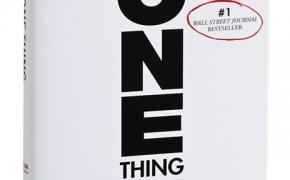 """Vieno domino stebuklas. Knygos """"The One Thing"""" apžvalga"""