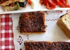 Red pepper and sesame bread / Paprikos ir sezamo skl duona