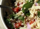 Israeli couscous salad / Izraelietikos kuskuso salotos