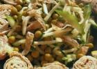 Labai lengvos, labai žalios ir visai nekaloringos salotos