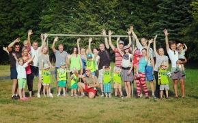 Šeimų sporto stovykla