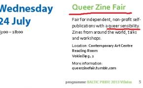 Queer ideologija jau Baltic pride 2013. Kokių dar Pasididžiavimo paradų ir Šlovės eisenų sulauksime?