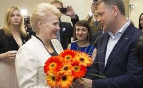 Shame on you, Grybauskaite