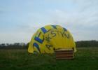 Trumpas dangun ėmimo momentas: skrydis oro balionu virš Vilniaus.