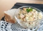 Balta mišrainė (White salad)