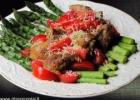 Smidrų ir pomidorų salotos su karšta  antiena