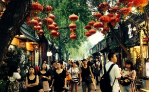 Kinija. Svetingas drakonas