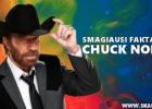 Smagiausi faktai apie legendinį Chuck Norris
