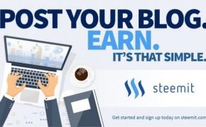 Steemit socialinis tinklas ir Steem kriptovaliuta