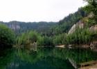 Čekijos kalnų gamta. Adršpachai, tai vieta kur pasijauti nykštuku