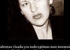 Šios dienos citata (sentencija): Giedra Radvilavičiūtė apie kūrėjo talentą
