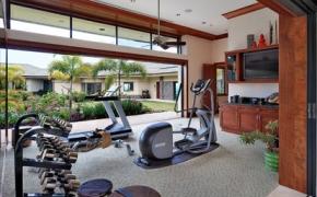 Tropical Home Gym