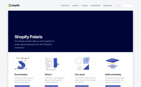 Dizaino sistemos: Taikymas e. komercijoje
