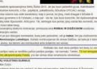 """A.Ramanauskas-Greitai: """"TS renegadas ir violetinis alkopsichopatas Puteikis"""" – 2013 Metų violetinio durniaus nominantas."""