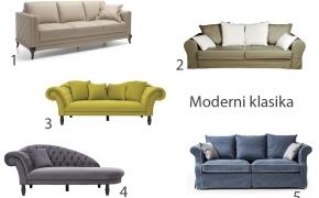 Kaip išsirinkti sofą skirtingo interjero stiliaus namams?