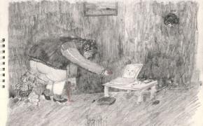 Gabrieliaus Mackevičiaus piešinių paroda