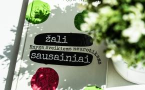 """Agnė Matulaitė """"Žali sausainiai: knyga sveikiems neurotikams"""""""