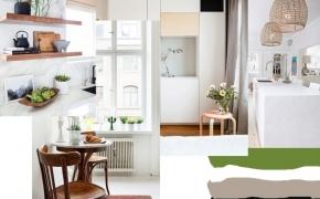 Nauji virtuvės baldai. Idėjų paieška