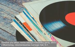VINILAS: MISTINĖ GARSO KOKYBĖ [EMOCIJOS 4/4]