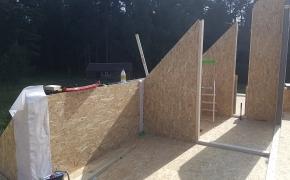 SIP skydų sienos ir stogas – dėžutė