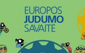 """Europos judrumo savaitė 2018 """"Pasirink ir judėk!"""""""