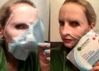 GARNIER Skin Naturals Moisture+ Aqua Bomb ypač drėkinanti ir veido apimties suteikianti lakštinė kaukė išsausėjusiai odai su granatų ekstraktu, hialurono rūgštimi ir drėkinančiu serumu