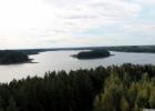Sartų ežero apžvalgos bokštas. Rokiškio rajonas