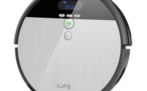 Ilife V8S Robotic Vacuum Cleaner with kuponas