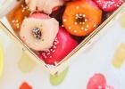 Pink Strawberry Mini DonutsSource