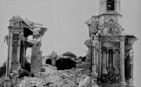 Kristaus Gelbėtojo cerkvės susprogdinimas (+video)
