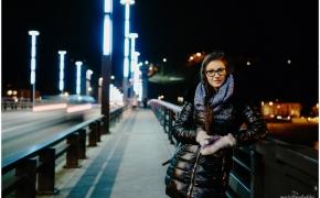 Justina / Asmeninė fotosesija vakare