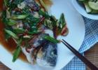 Kepta žuvis su sojų padažu