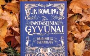 FANTASTINIAI GYVŪNAI IR KUR JUOS RASTI – J.K.Rowling