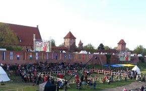 Viduramžių kovos Malborko pilyje