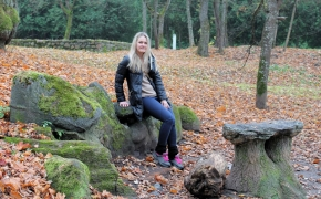 Lentvario dvaras bei nuostabusis, akmenuotasis dvaro parkas