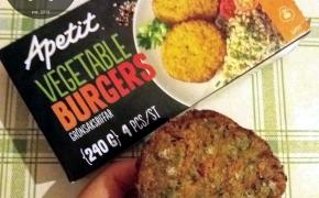 Vegan tinginių džiaugsmas – greitas burgeris!
