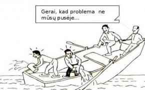 JŲ problemos ne MŪSŲ reikalas