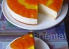 Maskarponės sūrio tortas su mandarinais
