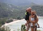 Tailande su šeima